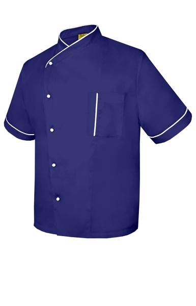 Asymmetrical short sleeve chef coat PROMO