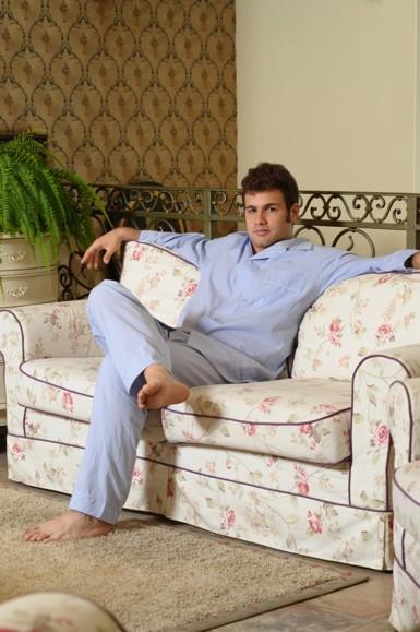 Pijama Clasic bărbați cu paspoal