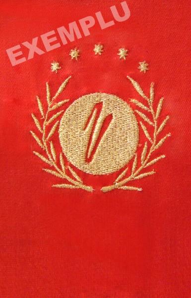 Broderie logo companie
